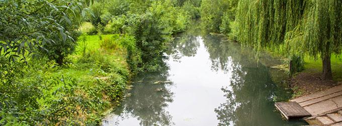 Balade sur l'eau lors d'une visite du Marais Poitevin